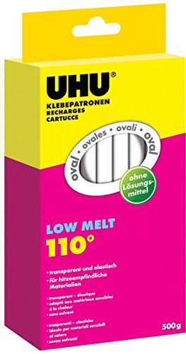 transparent 125 g UHU Klebepatrone Low Melt