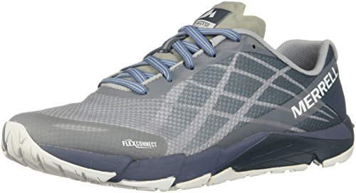 フィードオン美しい暴君Womens Merrell Trail Running Sneakers Bare Access Flex Shoes [並行輸入品]