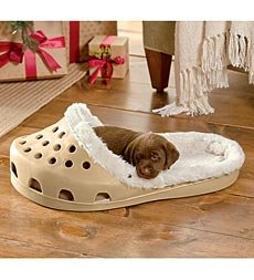 Sasquatch! Shoe Small Pet Bed, In Fawn, My Pet Supplies