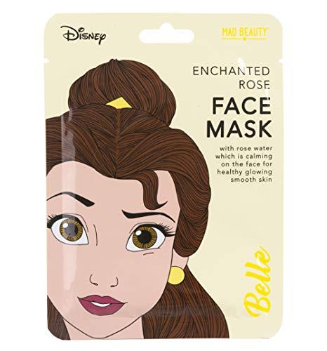 Disney Princess Beauty The Beast Belle Face Mask