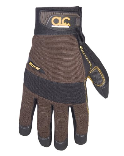 Custom LeatherCraft Boxer Glove, Black/Brown, Medium #135M