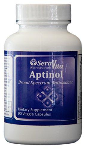 SeraVita Aptinol (Super Antioxidant Pinebark, Grapeseed Extract Combo) 90 Veggie Capsules
