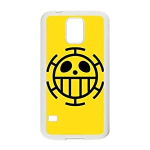 DAZHAHUI One Piece Trafalgar Law Flag Cell Phone Case for Samsung Galaxy S5