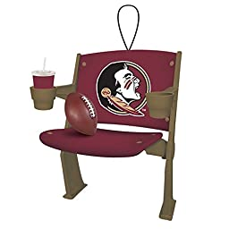 Florida State Seminoles Official NCAA 4 inch x 3 inch Stadium Seat Ornament