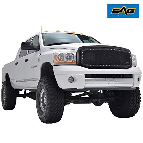 EAG SS Wire Mesh Replacement for 06-09 Dodge Ram 1500/2500/3500 Grille