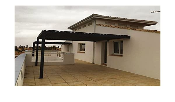 NAO Pergola bioclimatique clásico L 2500 mm x a 1500 mm: Amazon.es: Jardín