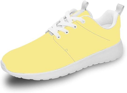 Mesllings Unisex Zapatillas de Running Saborizante Ligero Deporte Moda Zapatos para Exterior: Amazon.es: Zapatos y complementos