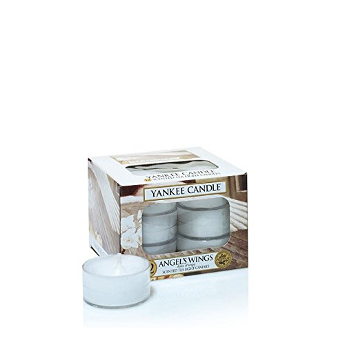 Candle Wing Angel (Yankee Candles Tealight Candles - Angel's Wings)
