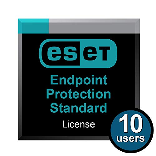 ESET Endpoint Protection Standard for 10 Users for 1 Year (The Best Endpoint Protection)