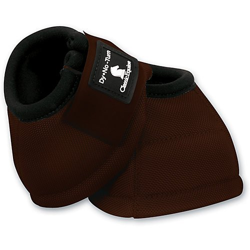 (Classic Equine Dyno No-Turn Bell Boot - Chocolate Medium )