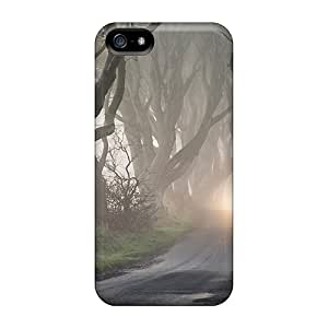 Perfect Fit EUHdT5644oZBat Road Through Haunted Forest Case For Iphone - 5/5s