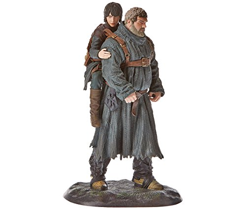 Mozlly Multipack - Dark Horse Deluxe Game of Thrones Hodor and Bran Figure - 9 inch - Novelty Character Collectibles (Pack of 3) - Item #S183004_X3