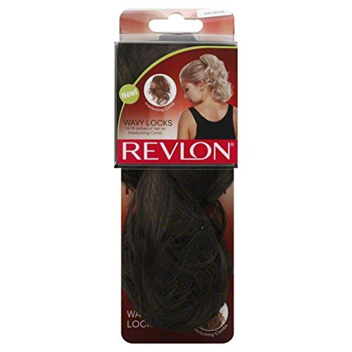 Wavy Locks Hair Piece By Revlon (Light Brown)