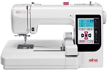 Elna 8100 Máquina de bordar: Amazon.es: Hogar