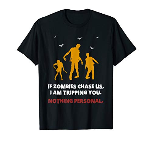 Supernatural Halloween Ideas (Funny If Zombies Chase Us Zombie Survival Training Halloween)