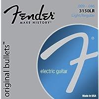 Fender 3150LR Original Bullets - Pure Nickel with Bullet Ends, .009- .046