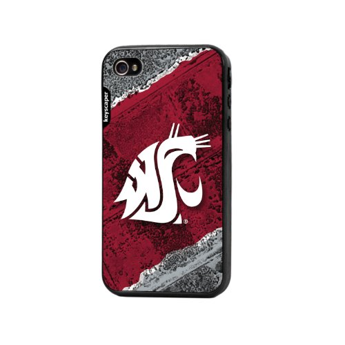 Keyscaper Cell Phone Case for Apple iPhone 4/4S - Washington State ()