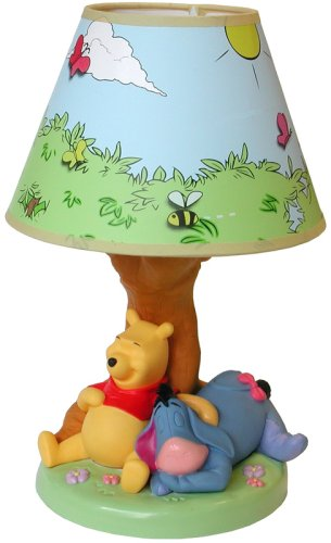 Beautiful Disney Winnie The Pooh Lamp
