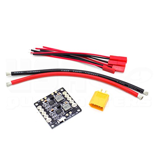 racing drone quadcopter wiring kit naze32 cc3d pdb 12awg wire xt60 connector agogo drone