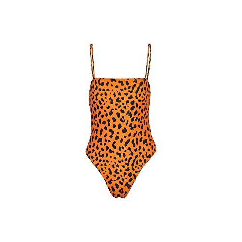 a0f9d3f1d4068 PRETTYGARDEN Women's One Piece Halter Straps U Neck Backness Swimsuits  Monikini Bathing Suit