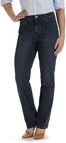 LEE Women's Petite Relaxed Fit Straight Leg Jean