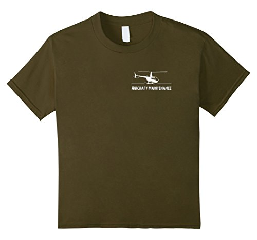 unisex-child Helicopter Mechanic t shirt, Pilot tee, air ...