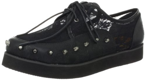 Iron Fist Women's Lovelace Your Face Creeper Oxford