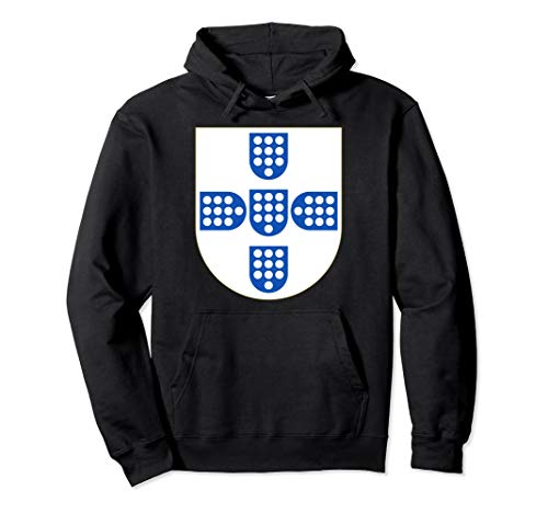 Portugal Coat - Portugal Coat of Arms Medieval Heraldry t-shirt Pullover Hoodie