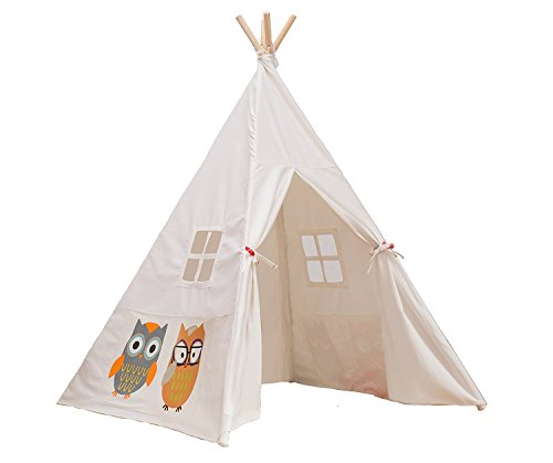 Teepee Portable Canvas Playhouse Lubber product image
