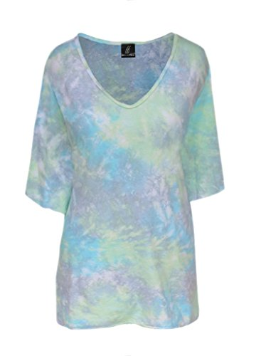 Plus Size Tie Dye | Woman's Tunic Top | Plus Size Clothing for Full Figure Women