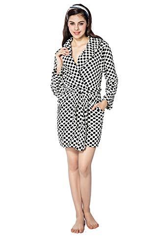 Baño Camisón Impresión Punto Mujeres Ropa Casual Moda Hogar De Pijamas m Black Bata Las purple WPYgIqwRR