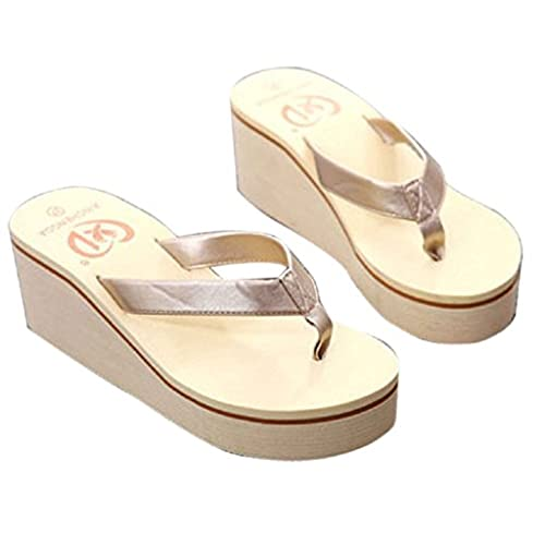 23a7937f7375a ... 50%OFF Gillberry Summer Sexy Flip Flops Women Sandals Bohemian Muffin  Slope With Sandals new ...