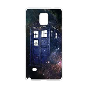 Doctor Who starry night blue police box Cell Phone Case for Samsung Galaxy Note4