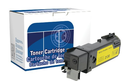 - Dataproducts DPCD2130Y Compatible High Yield Toner Cartridge Replacement for Dell 2130/2135 (Yellow)