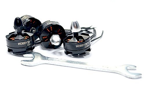4PCS 2300KV 2204 Brushless Motor CW/&CCW For Quadcopter FPV Drones