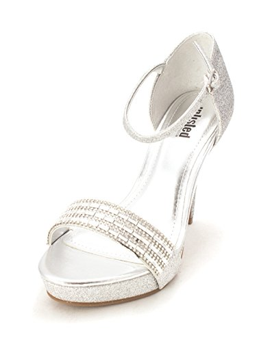 Silver 2 Pu Strap Unlisted Ankle Cole D Open Action Toe Real Womens Kenneth Orsay XwZqO1T6