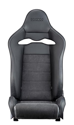 Buy sparco black leather racing seats