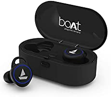 boAt Airdopes 311v2 True Wireless Earbuds (Bluetooth V5.0) with HD Sound and Sleek Design, Integrated Controls with...