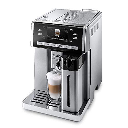 De'Longhi ESAM 6900.M - Máquina espresso, 1350 W, 1.4 L, 80 dB, acero inoxidable/plástico, acero inoxidable