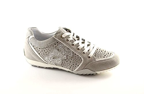 IGI&CO 38012 perla scarpe donna sportive forate brillantini