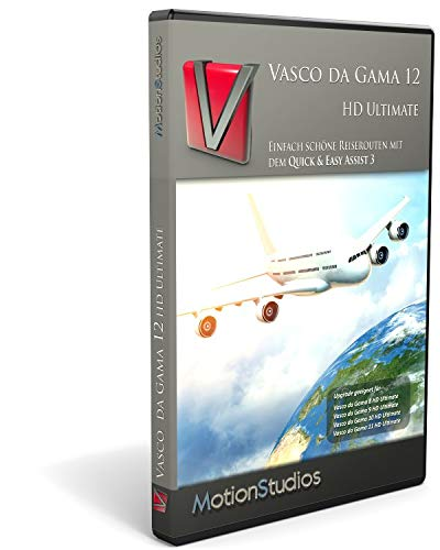 Vasco Da Gama 12 HD Ultimate Upgrade von Version 8-11 Ultimate
