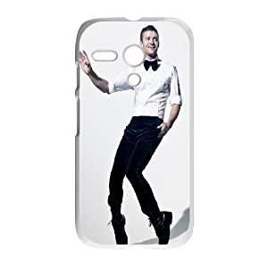 Celebrities Justin Timberlake Motorola G Cell Phone Case White phone component RT_224541