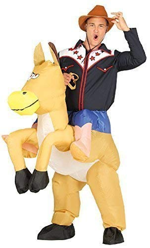 Fancy Me Hombre Hinchable A Caballito Step en Ride A Caballo ...