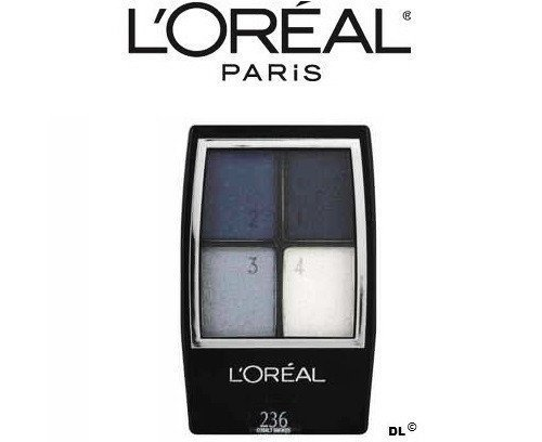 L'oreal Studio Secrets Professional Eye Shadow Quad, 236 Cobalt Smokes (1 Pack) by L'Oreal Paris (Image #1)