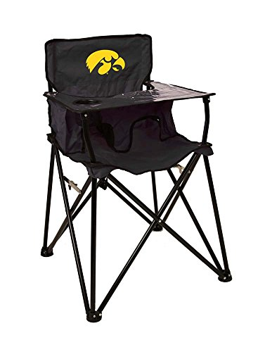 Rivalry Distributing RIV-RV229-1700 Iowa Hawkeyes NCAA Ultimate Travel Child High Chair by Rivalry Distributing