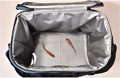 Borsa Termica Multifunzione per Pesca con Sacco Refrigerante, Borsa da Viaggio per Refrigerazione - Isolamento Impermeabile Portatile - Borsa Termica Ad Alta capacità