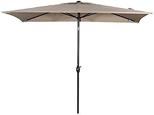 Abba Patio Rectangular Patio Umbrella Outdoor Market Table Umbrella