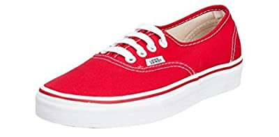 Vans Unisex Skate Shoe (43 M EU/10 D(M) US, Red)