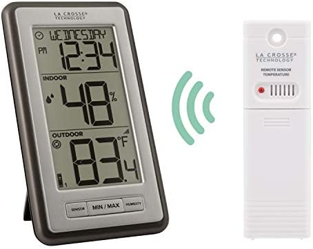 Wireless Weather Station Technoline WS 9130 it Thermometer Min//Max Date//With Battery