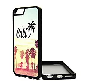 Apple Case Cover For SamSung Galaxy S4 Mini Case california cali trees sunset hipster Case Cover For SamSung Galaxy S4 Mini Case Design Cover Skin BLACK PC SILICONE Hard Teen Girls Gift Vintage Fashion Art Print Cell Phone Accessories